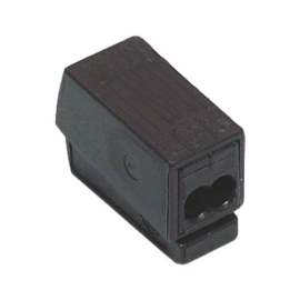 Wago insteek lasklem voor 2 x  VD 1.0-2.5 mm² voor aansluiting met 1  x soepel 1.0-2.5 mm²