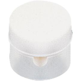 GBO afstandssteun met schroefdeksel Ø 30 mm wit