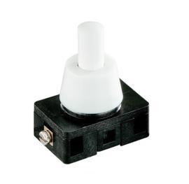 GBO inbouw drukschakelaar 1 polig voor halogeen laagspanning