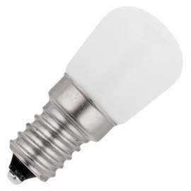 GBO LED schakelbordlamp P23x51mm opaal 1.3 Watt E14 827 2700K ND