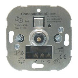GBO universele inbouwdimmer 20 - 315 Watt