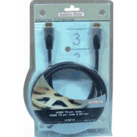 GBO HQ HDMI kabel H5611 19 polig 1.0 meter + ferrietkern