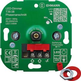 GBO universele LED inbouwdimmer 3 - 250 Watt