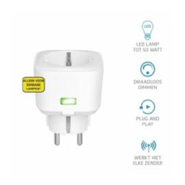 Klikaan klikuit ontvanger stopcontact LED dimmer / schakelaar ACC-250-LC