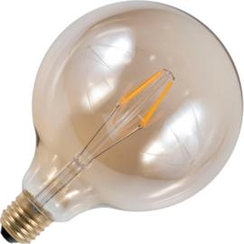 GBO LED Globe lamp G125 E27 gold 4 Watt  922 DB