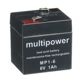 Multipower Loodgel Accu 6.0 Volt 1.0 Ah