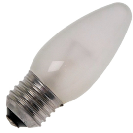 GBO standaard marine  kaarslamp C35 mat 40 Watt E27