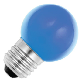 GBO Party LED kogellamp E27 blauw 1.5 Watt ND