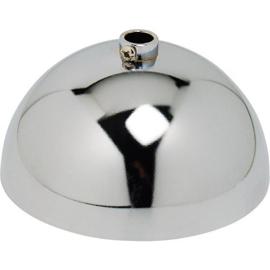 GBO plafondkap kogelvorm chroom