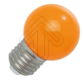 GBO LED kogellamp E27 oranje 1 Watt ND