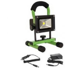 Bailey LED bouwlamp draagbaar 10 Watt 4000K 900 Lumen IP65 groen