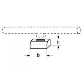 Radium S14d lijnlamphouder grijs