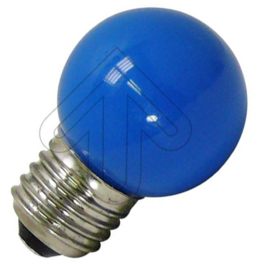 GBO LED kogellamp E27 blauw 1 Watt ND