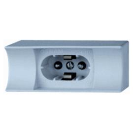 Osram S14d lijnlamphouder grijs F670