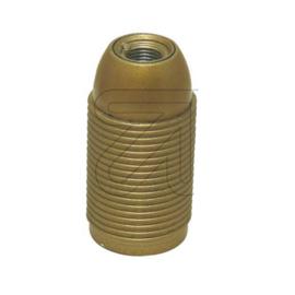 GBO fitting E14 kunststof buitendraad goud M10x1