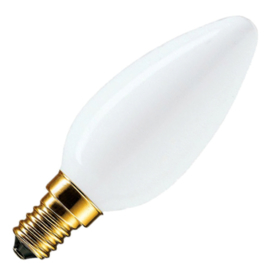 GBO standaard marine  kaarslamp C35 opaal 25 Watt E14
