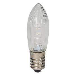 GBO LED Topkaars helder geribbeld 8 - 55 Volt 0.1  Watt E10 Bls3