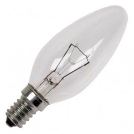 GBO standaard marine  kaarslamp C35 helder 11-15 Watt E14
