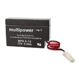 Multipower Loodgel Accu 12.0 Volt 0.8 Ah