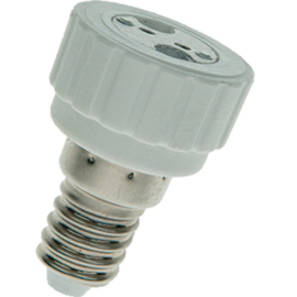 Bailey verloopfitting E14 naar G4/G5.3/G6.35/MR8/MR11/MR16