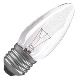 GBO standaard marine  kaarslamp C35 helder 40 Watt E27