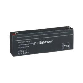 Multipower Loodgel Accu 12.0 Volt  2.2 Ah