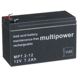 Multipower Loodgel Accu 12.0 Volt 7.2 Ah