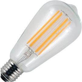 GBO LED Rustika lamp E27 helder 6.5 Watt 818 DB