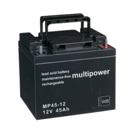 Multipower Loodgel Accu 12.0 Volt 45.0 Ah met VdS-Keur