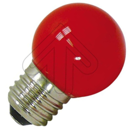 GBO LED kogellamp E27 rood 1 Watt ND