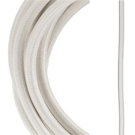 Bailey textielsnoer 2 x 0,75 mm² 3 meter kleur beige