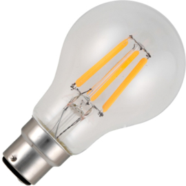 GBO LED normaallamp A60 Ba22d helder 5.5 Watt 925 DB