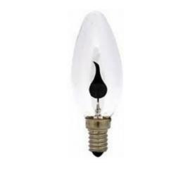 GBO neon kaarslamp Flicker Flame 3 Watt E14 helder