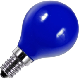 GBO LED kogellamp E14 blauw 1 Watt ND