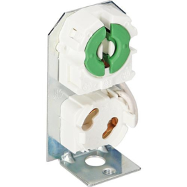 GBO lamphouder G13 met starterhouder op beugel
