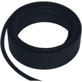 GBO textielsnoer 2 x 0,75 mm² per meter kleur zwart