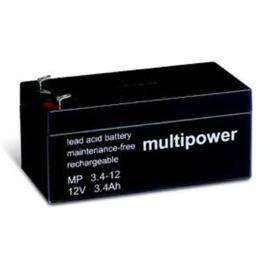 Multipower Loodgel Accu 12.0 Volt 3.4 Ah