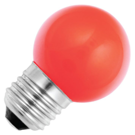 GBO Party LED kogellamp E27 rood 1.5 Watt ND