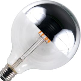 GBO LED Globe kopspiegellamp G125 E27 zilver 6.5 Watt  925 DB