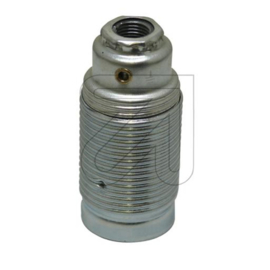GBO fitting E14 metaal chroom buitendraad M10x1