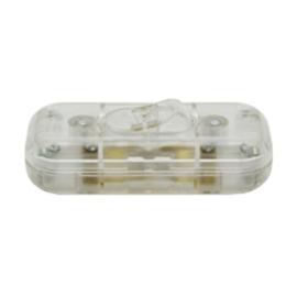 GBO snoerschakelaar 1 polig transparant