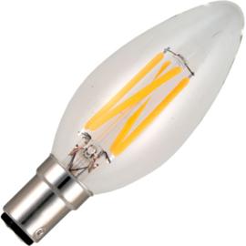 GBO LED - kaarslamp Ba15d helder 4 Watt 925 DB