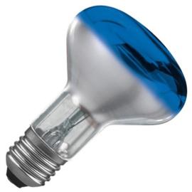 Osram reflectorlamp R80 60 Watt E27 blauw