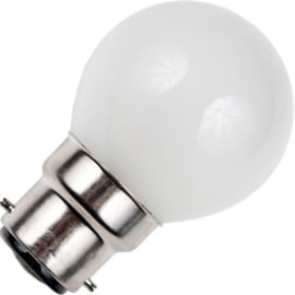 GBO standaard marine  kogellamp  G45 mat 15 Watt Ba22d