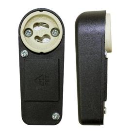 GBO keramische lamphouder met haakse aansluitbox  GU10
