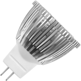 GBO LED reflectorlamp GU4 MR11 1 Watt 30° 3000K ND