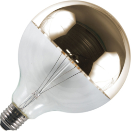 GBO LED Globe kopspiegellamp G125 E27 goud 6.5 Watt  925 DB