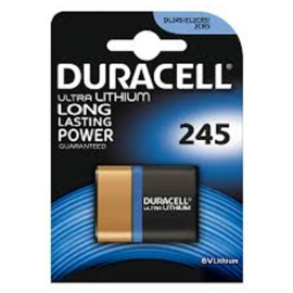 Duracell Lithium batterij 2CR5 6 Volt DL245