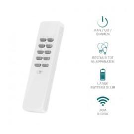 Klikaan klikuit zender afstandsbediening AYCT-102 voor 16 apparaten.