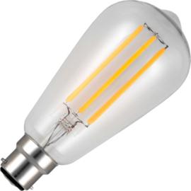 GBO LED Rustika lamp E27 helder 6 Watt  922 DB